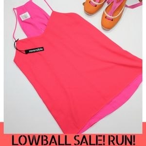 LOWBALL SALE! Express Reversible Tank in Pink